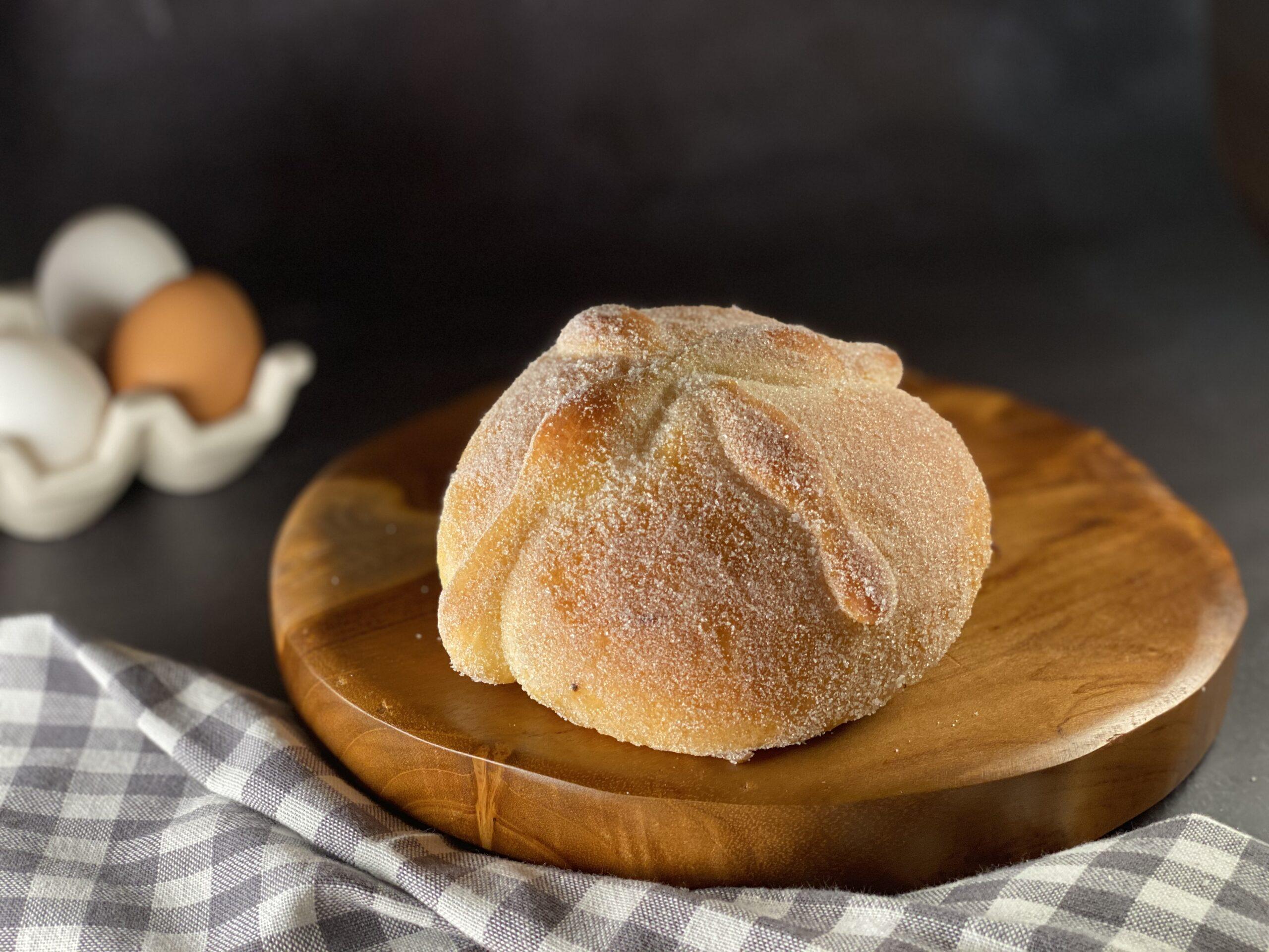 Pan de muerto tradicional